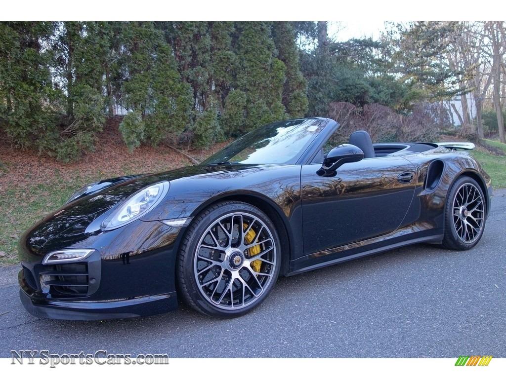 2014 porsche 911 turbo s cabriolet in black 173633 cars for sale in new york. Black Bedroom Furniture Sets. Home Design Ideas