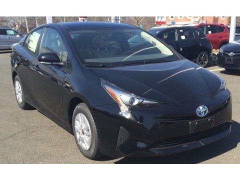 Black 2016 Toyota Prius v Two