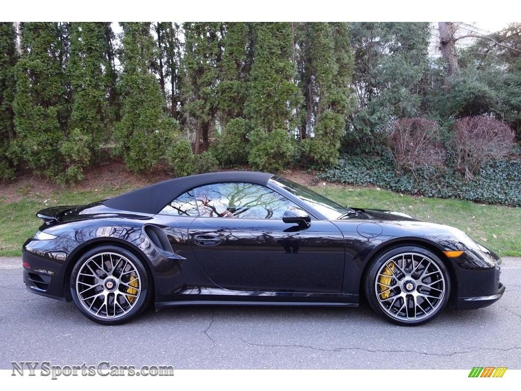 2015 porsche 911 turbo s cabriolet in basalt black metallic photo 7 178106. Black Bedroom Furniture Sets. Home Design Ideas