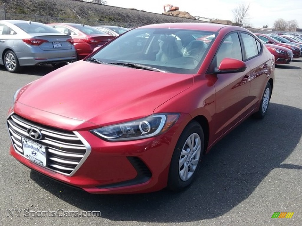 2017 hyundai elantra se in red 035748 cars for sale in new york. Black Bedroom Furniture Sets. Home Design Ideas