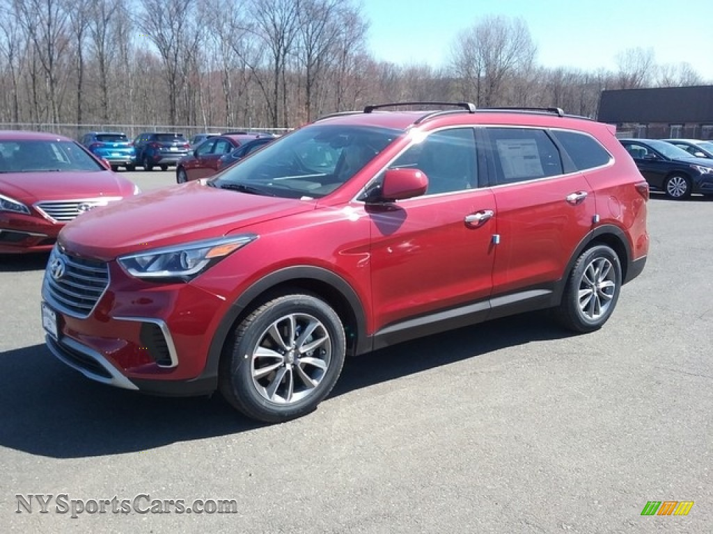 2017 hyundai santa fe se awd in regal red pearl 174276 cars for sale in. Black Bedroom Furniture Sets. Home Design Ideas