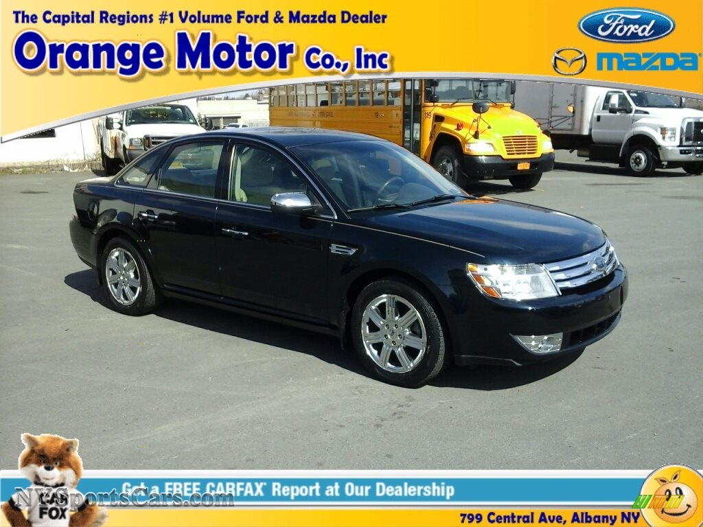 2008 ford taurus limited in dark ink blue metallic photo for Orange motors albany new york
