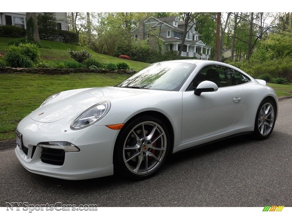 2014 porsche 911 carrera 4s coupe in white 122073 cars for sale in new york. Black Bedroom Furniture Sets. Home Design Ideas