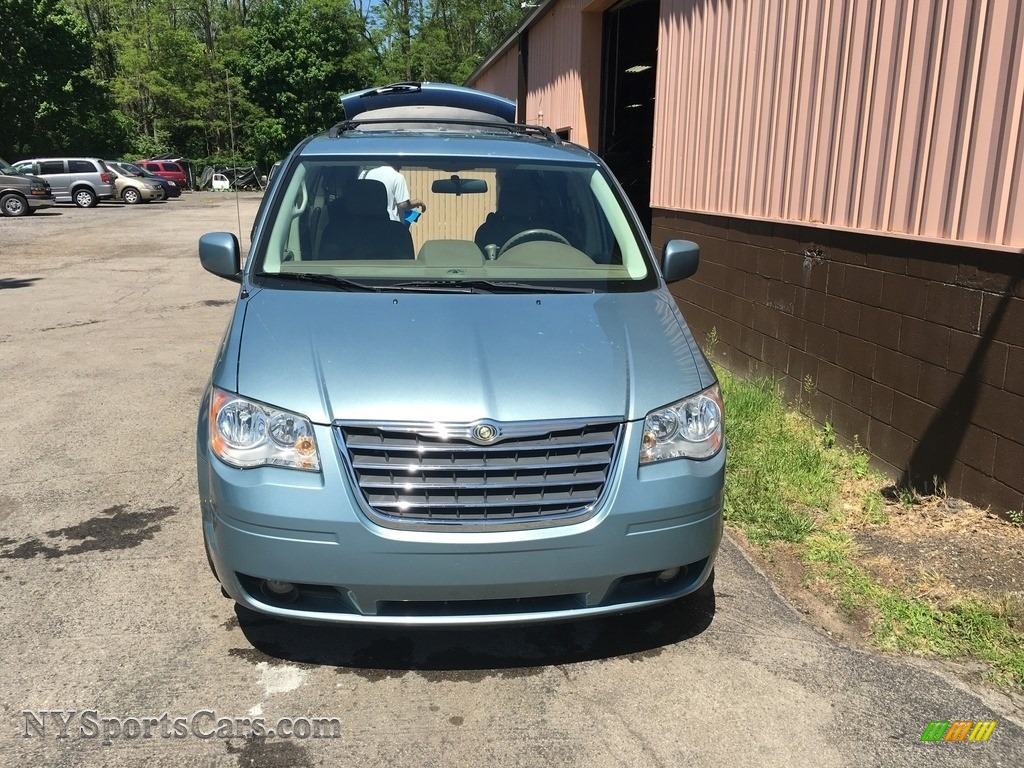 Blue Pearl Clearwater >> 2010 Chrysler Town Country Touring In Clearwater Blue Pearl Photo