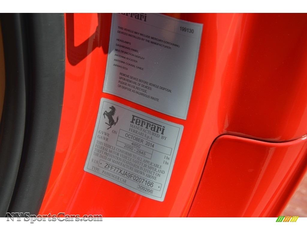 2015 California T - Rosso Scuderia / Cuoio photo #77