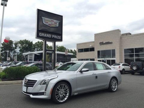 Radiant Silver Metallic 2016 Cadillac CT6 3.0 Twin-Turbo Premium Luxury AWD