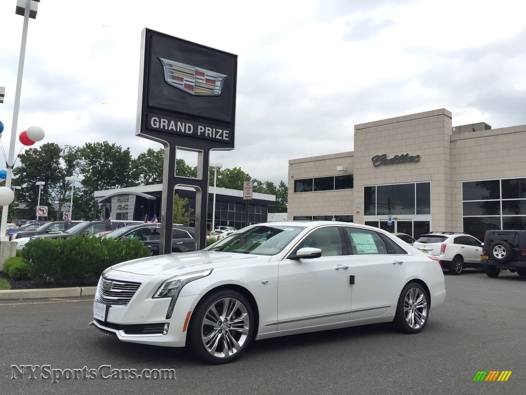 Crystal White Tricoat / Very Light Cashmere Cadillac CT6 3.0 Twin-Turbo Platinum AWD