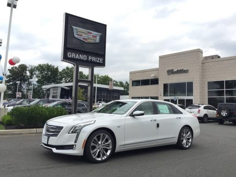 Crystal White Tricoat 2016 Cadillac CT6 3.0 Twin-Turbo Platinum AWD