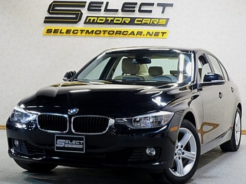 Jet Black 2013 BMW 3 Series 328i xDrive Sedan