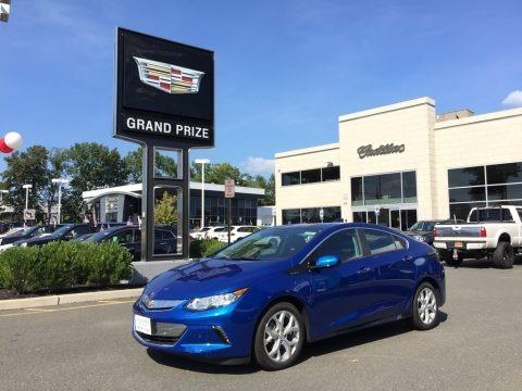 Kinetic Blue Metallic 2017 Chevrolet Volt Premier