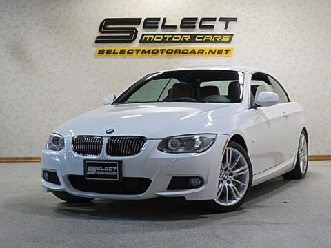 Alpine White 2013 BMW 3 Series 335i Convertible