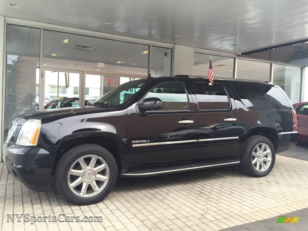 2013 Yukon XL Denali AWD - Onyx Black / Ebony photo #1