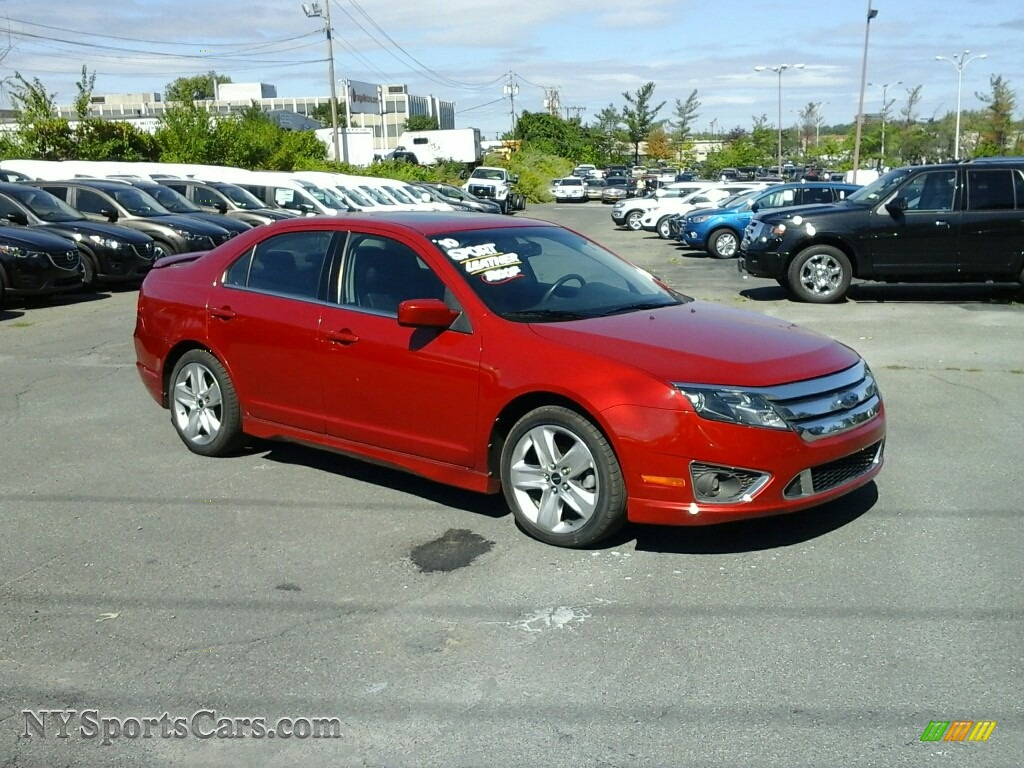 2010 Ford Fusion Sport AWD in Sangria Red Metallic  249425