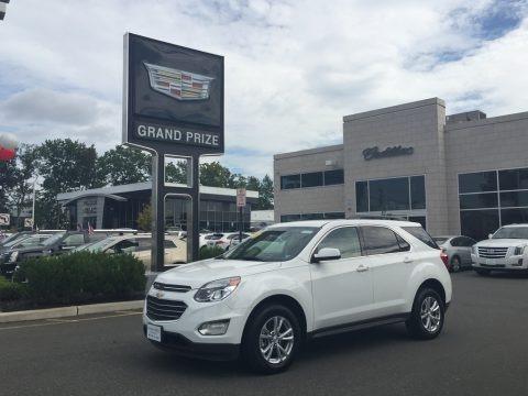 Summit White 2016 Chevrolet Equinox LT AWD