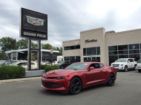 Garnet Red Tintcoat 2017 Chevrolet Camaro LT Coupe