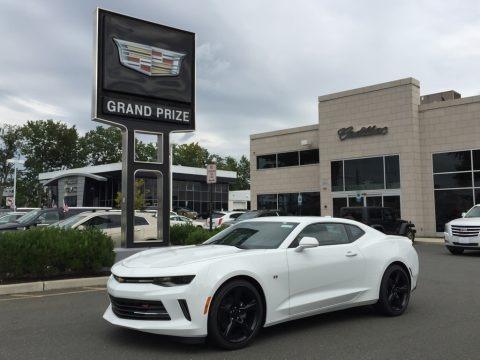 Summit White 2017 Chevrolet Camaro LT Coupe