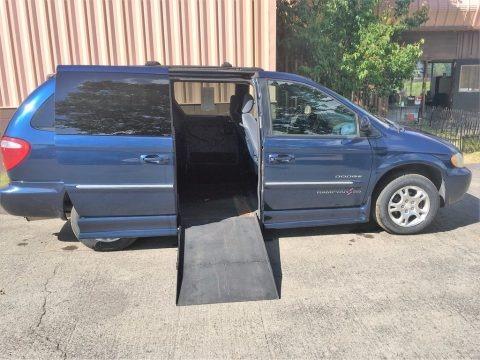 Patriot Blue Pearlcoat 2001 Dodge Grand Caravan ES