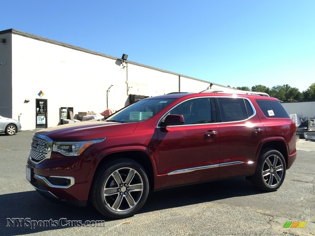 2017 gmc acadia denali awd in crimson red tintcoat. Black Bedroom Furniture Sets. Home Design Ideas