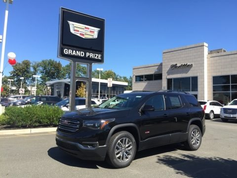 Ebony Twilight Metallic 2017 GMC Acadia All Terrain SLE AWD