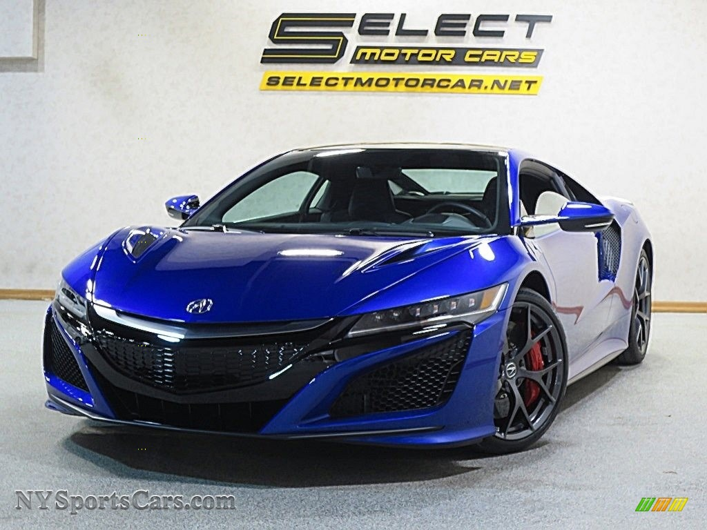 2017 acura nsx blue best new cars for 2018. Black Bedroom Furniture Sets. Home Design Ideas