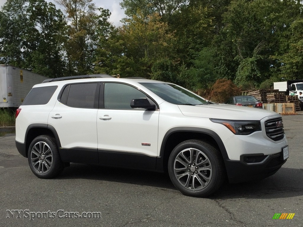 2017 gmc acadia all terrain slt awd in white frost tricoat photo 3 150214. Black Bedroom Furniture Sets. Home Design Ideas