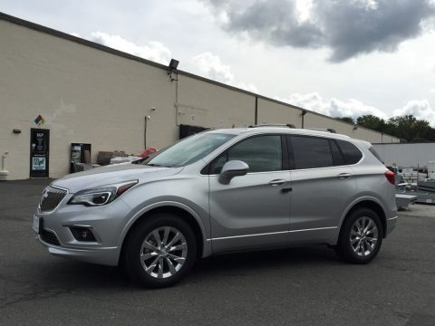 Galaxy Silver Metallic 2017 Buick Envision Essence AWD