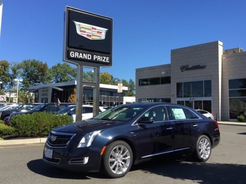 Dark Adriatic Blue Metallic 2017 Cadillac XTS Luxury AWD