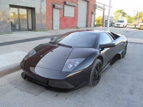 Black 2007 Lamborghini Murcielago LP640 Coupe