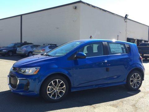 Kinetic Blue Metallic 2017 Chevrolet Sonic LT Hatchback