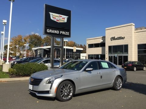 Radiant Silver Metallic 2017 Cadillac CT6 3.0 Turbo Premium Luxury AWD Sedan