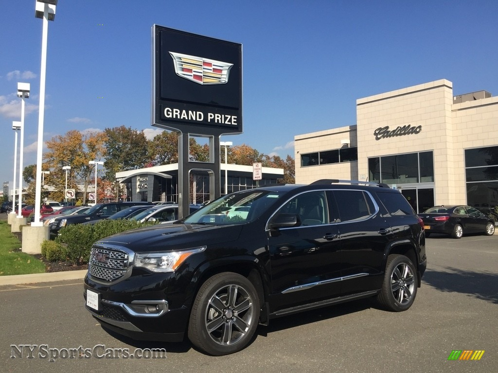 Ebony Twilight Metallic Jet Black Gmc Acadia Denali Awd