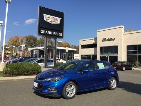 Kinetic Blue Metallic 2017 Chevrolet Cruze LT
