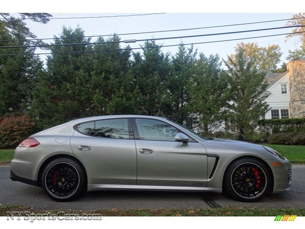2015 Porsche Panamera GTS In GT Silver Metallic Photo 7