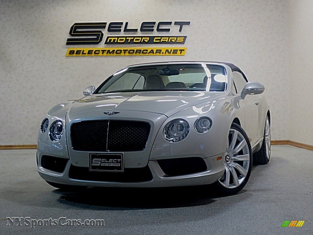 White Sand / Linen Bentley Continental GTC V8