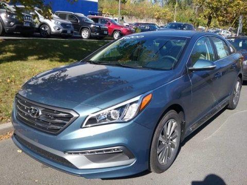 Nouveau Blue 2017 Hyundai Sonata Sport