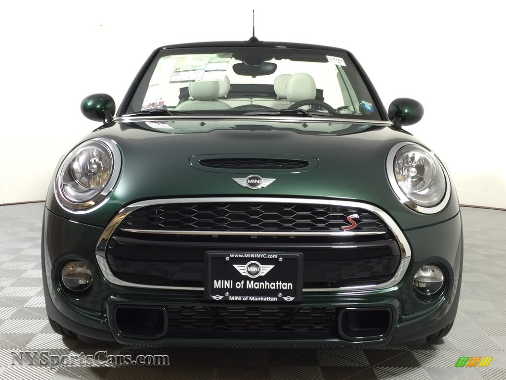 2017 Mini Convertible Cooper S In British Racing Green Ii