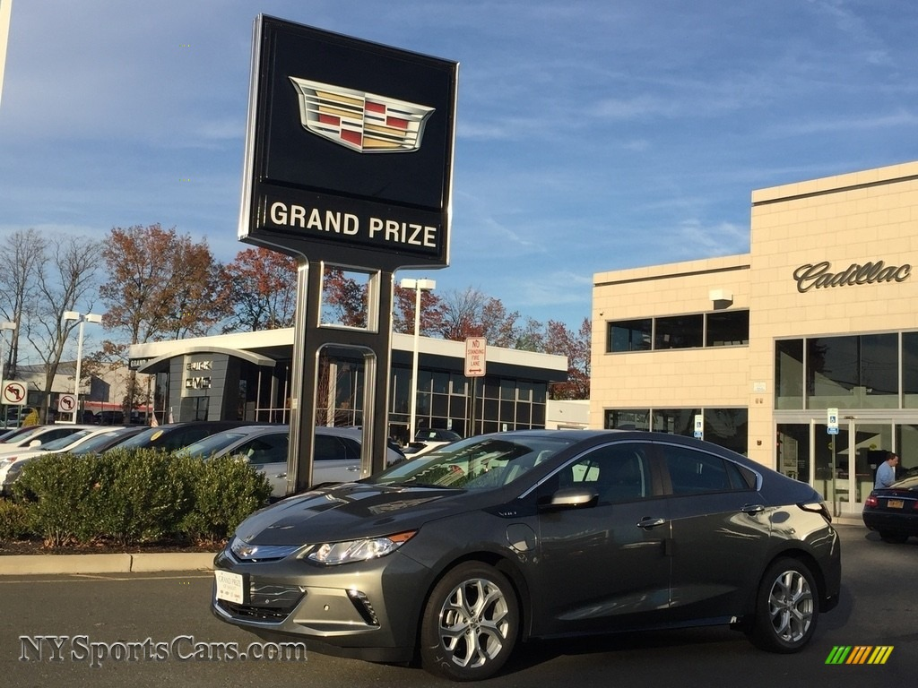 2017 Volt Premier - Heather Gray Metallic / Jet Black/Jet Black photo #1