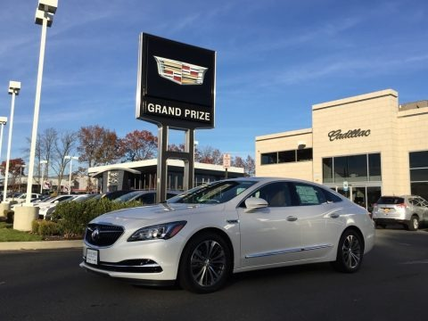 White Frost Tricoat 2017 Buick LaCrosse Premium AWD