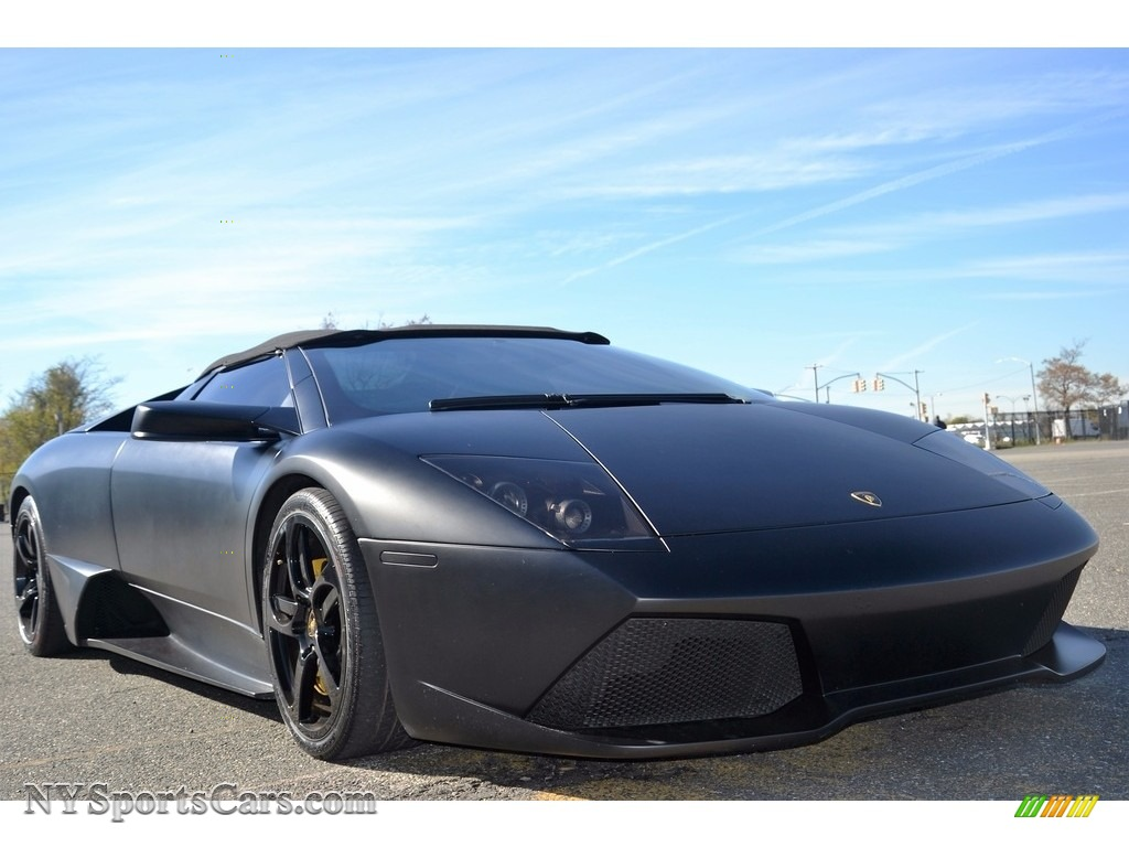 2008 Murcielago LP640 Roadster - Nero Aldebaran / Nero Perseus photo #6