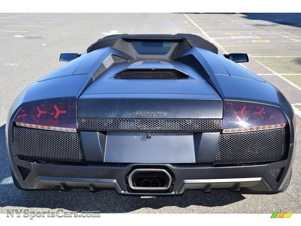 2008 Murcielago LP640 Roadster - Nero Aldebaran / Nero Perseus photo #17