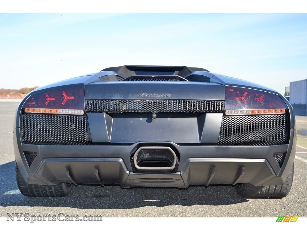 2008 Murcielago LP640 Roadster - Nero Aldebaran / Nero Perseus photo #18