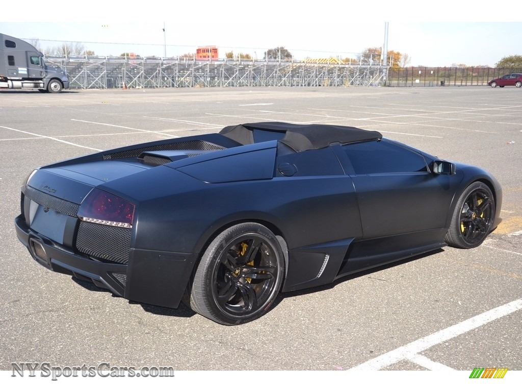 2008 Murcielago LP640 Roadster - Nero Aldebaran / Nero Perseus photo #19