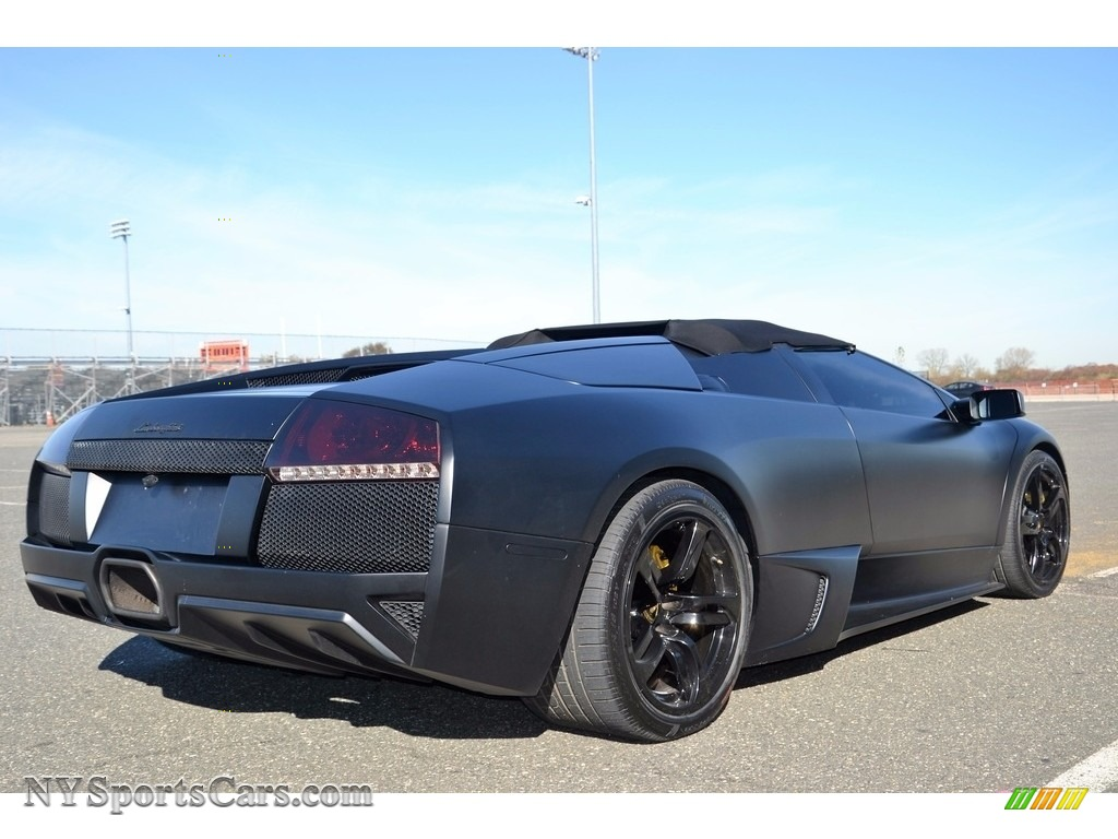 2008 Murcielago LP640 Roadster - Nero Aldebaran / Nero Perseus photo #20
