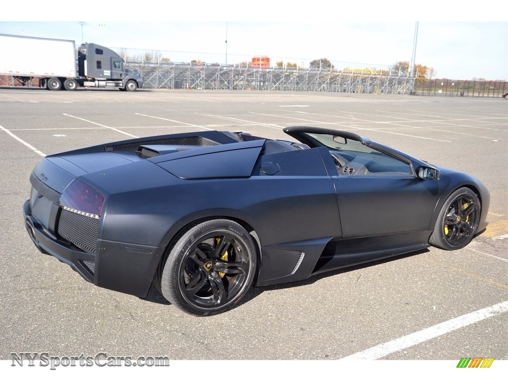 2008 Murcielago LP640 Roadster - Nero Aldebaran / Nero Perseus photo #21