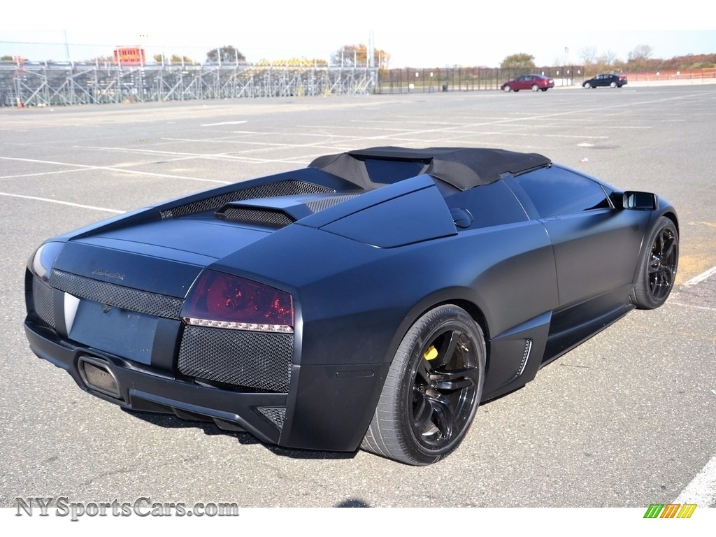 2008 Murcielago LP640 Roadster - Nero Aldebaran / Nero Perseus photo #22