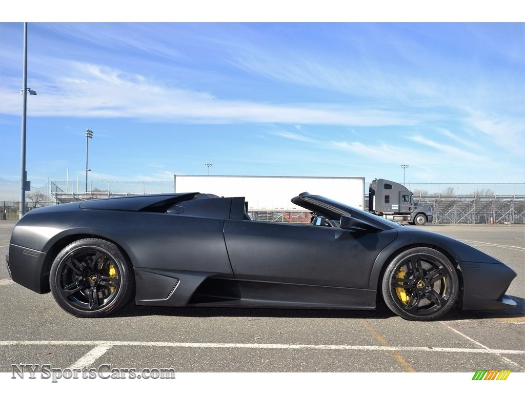 2008 Murcielago LP640 Roadster - Nero Aldebaran / Nero Perseus photo #23