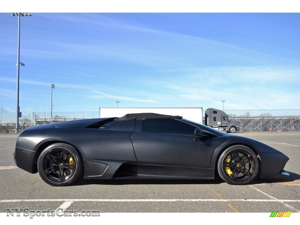 2008 Murcielago LP640 Roadster - Nero Aldebaran / Nero Perseus photo #25