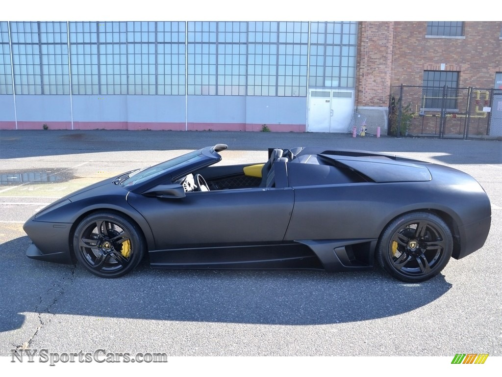 2008 Murcielago LP640 Roadster - Nero Aldebaran / Nero Perseus photo #27