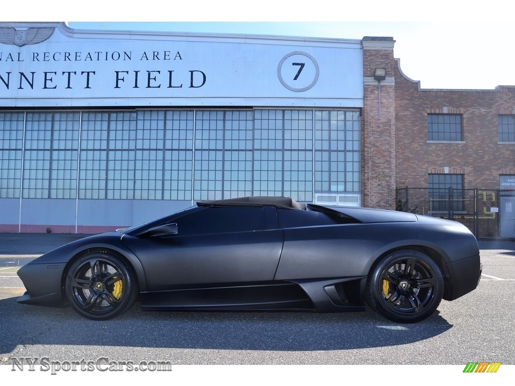 2008 Murcielago LP640 Roadster - Nero Aldebaran / Nero Perseus photo #31