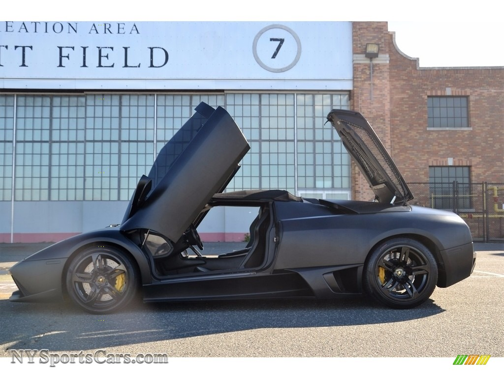 2008 Murcielago LP640 Roadster - Nero Aldebaran / Nero Perseus photo #33